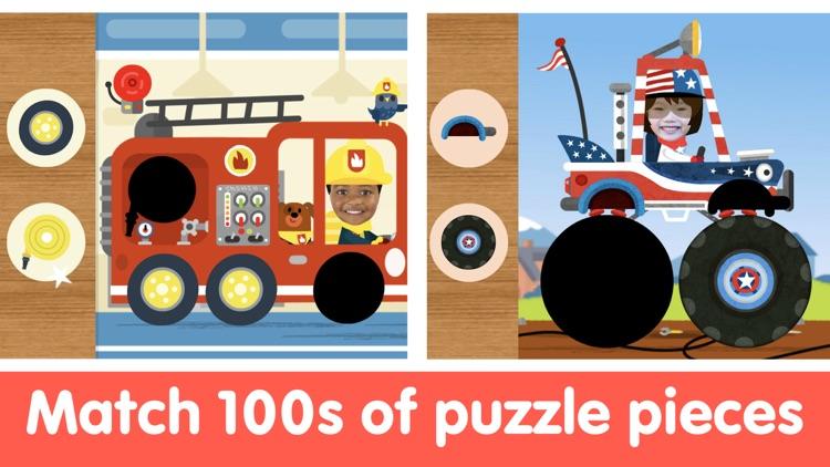 Kids Car Games Toddler Puzzles screenshot-4
