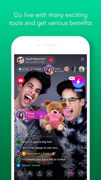 LINE LIVE: Broadcast your life Screenshot