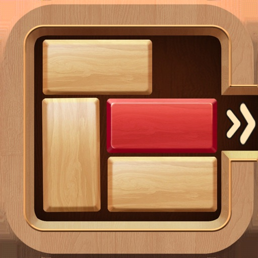 Wood Puzzle: Tap Slip Cube Out