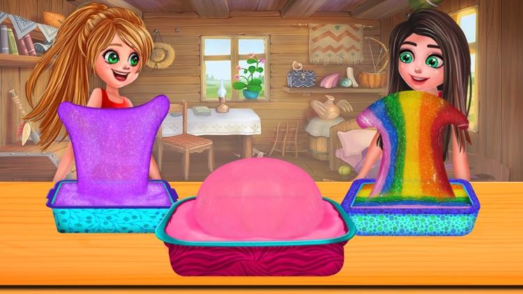 Rainbow ASMR Slime Simulator screenshot-4