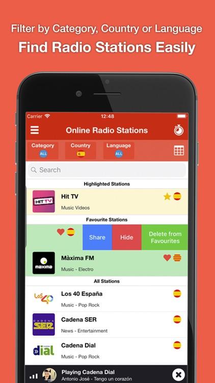 Radio Online FM AM Podcasts screenshot-3