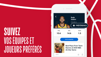 Screenshot #2 pour NBA Officiel : basket en live