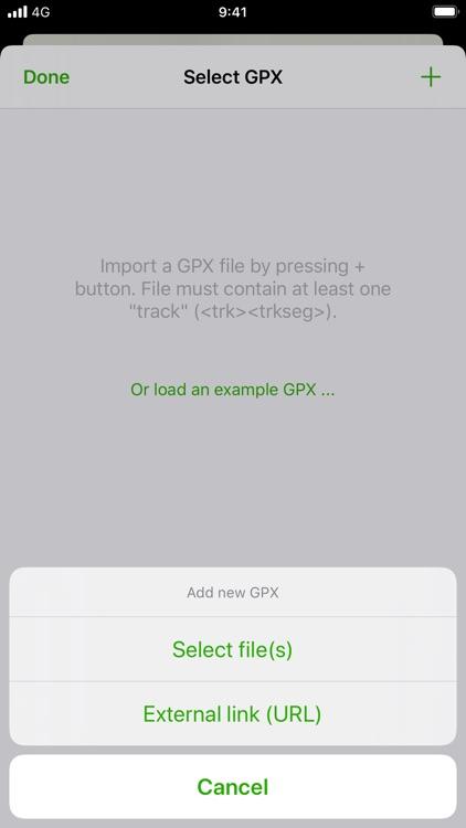 GPX viewer screenshot-4