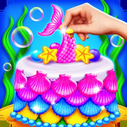 Mermaid Cake Maker Chef