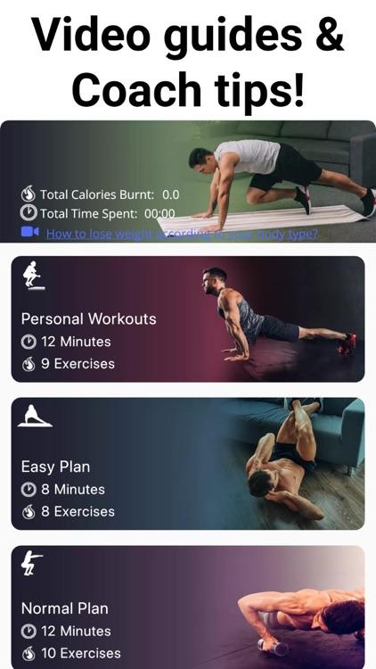 No Equipment Home Workout screenshot-6