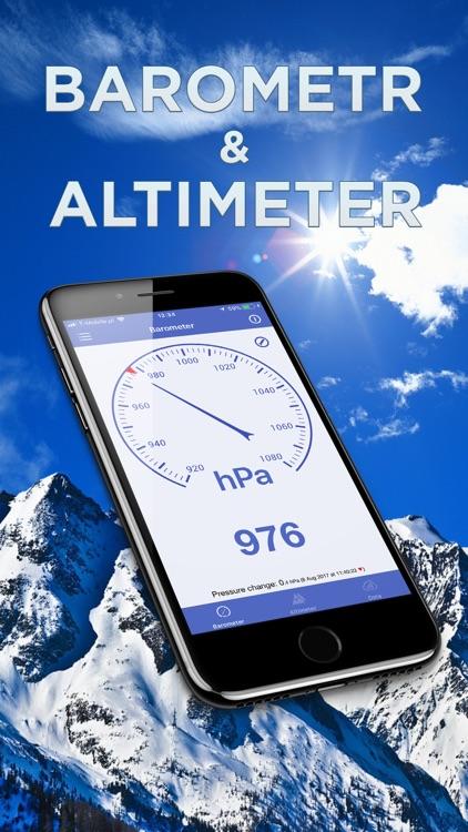 Barometer & Altimeter & Thermo screenshot-0