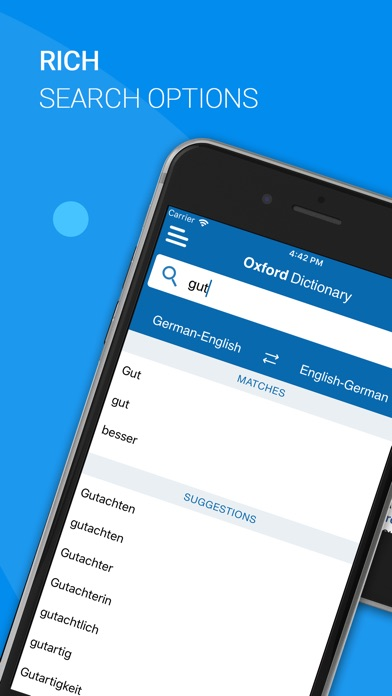 Oxford German Dictionary Screenshot 2
