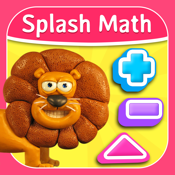 Splash Math Kindergarten: Fun Educational Worksheets for Counting Numbers, Addition, Subtraction and more [Free] icon