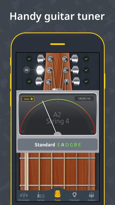 Guitar Tuner - Ukulele & Bass app image