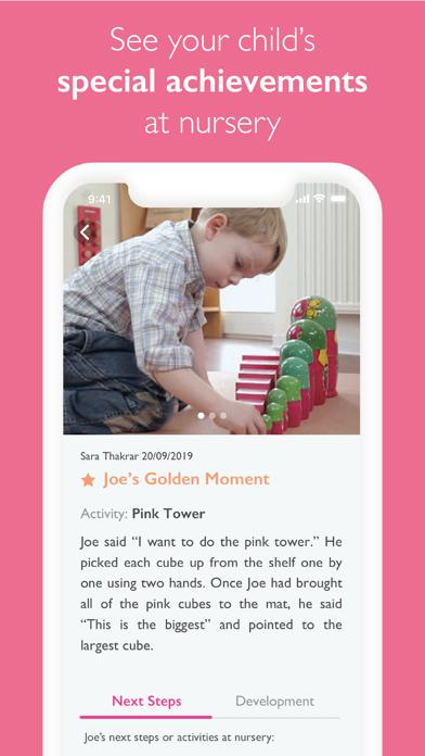 Blossom Parent App screenshot four