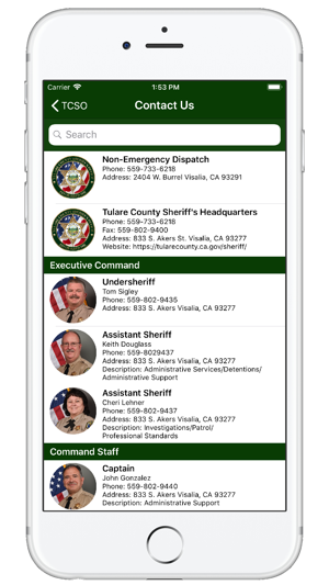 Tulare County Sheriff on the App Store
