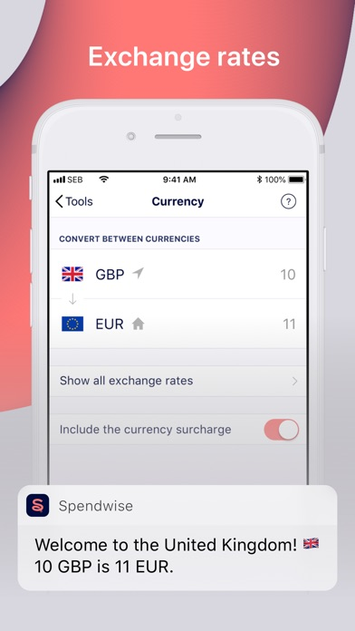 Screenshot for Spendwise in Netherlands App Store