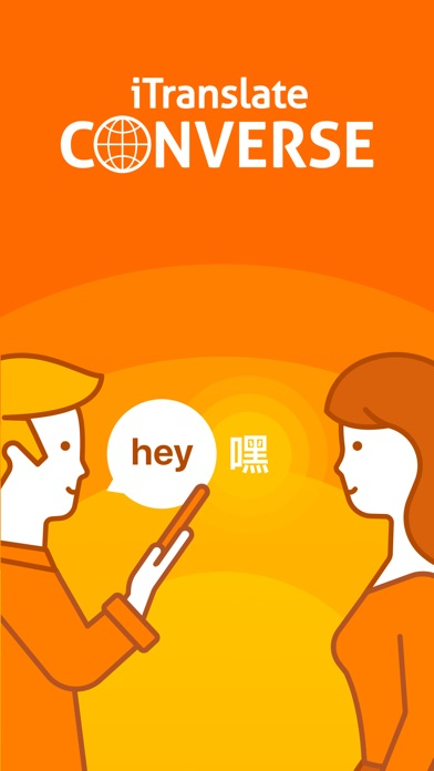 iTranslate Converse 翻訳スクリーンショット