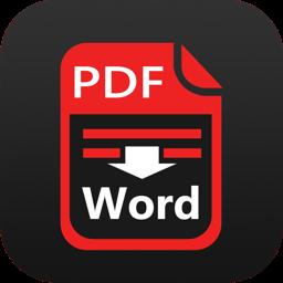 Ícone do app PDF to Word Converter-with OCR