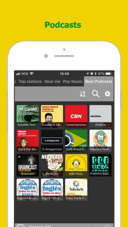 Radio FM Brasil: Radios Online screenshot-3