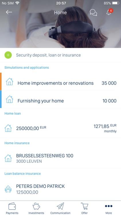 KBC Brussels Mobile screenshot-6