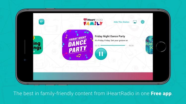 iHeartRadio Family screenshot-0