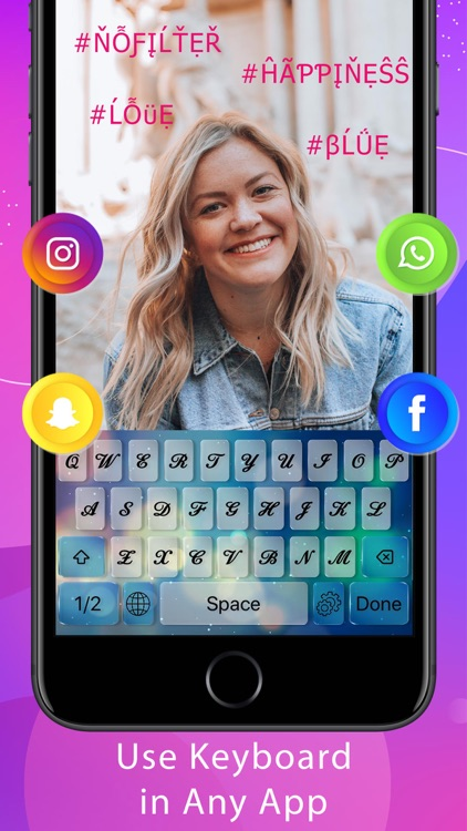 Fontify -Font & Emoji Keyboard screenshot-1