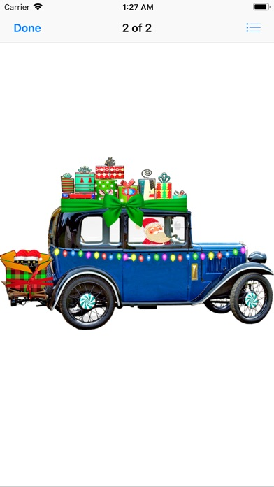 Christmas Cars app image