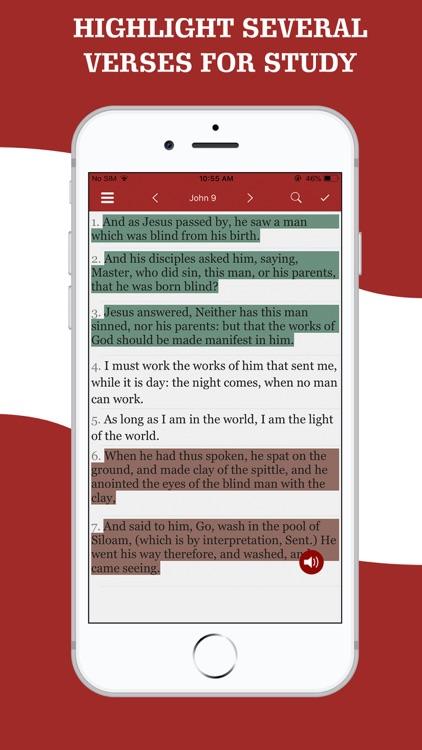 American King James Bible screenshot-6