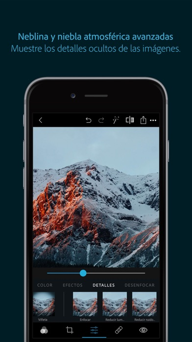 Screenshot for Adobe Photoshop Express:Editor in Spain App Store
