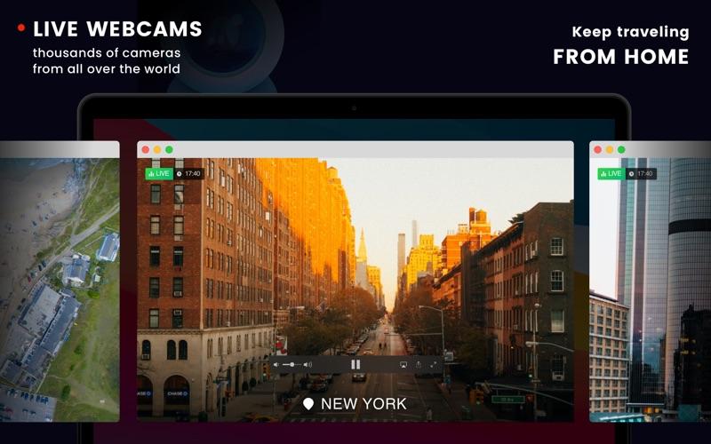 Webcam World View with AI Screenshot