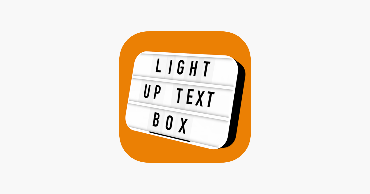 Light Up Text Box on the App Store