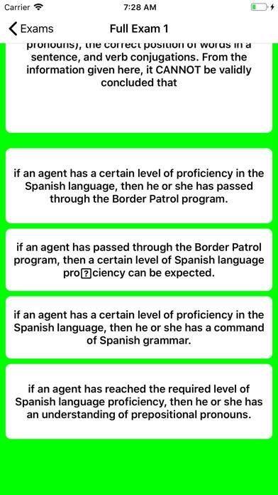 Border Patrol Exam Prep screenshot 2