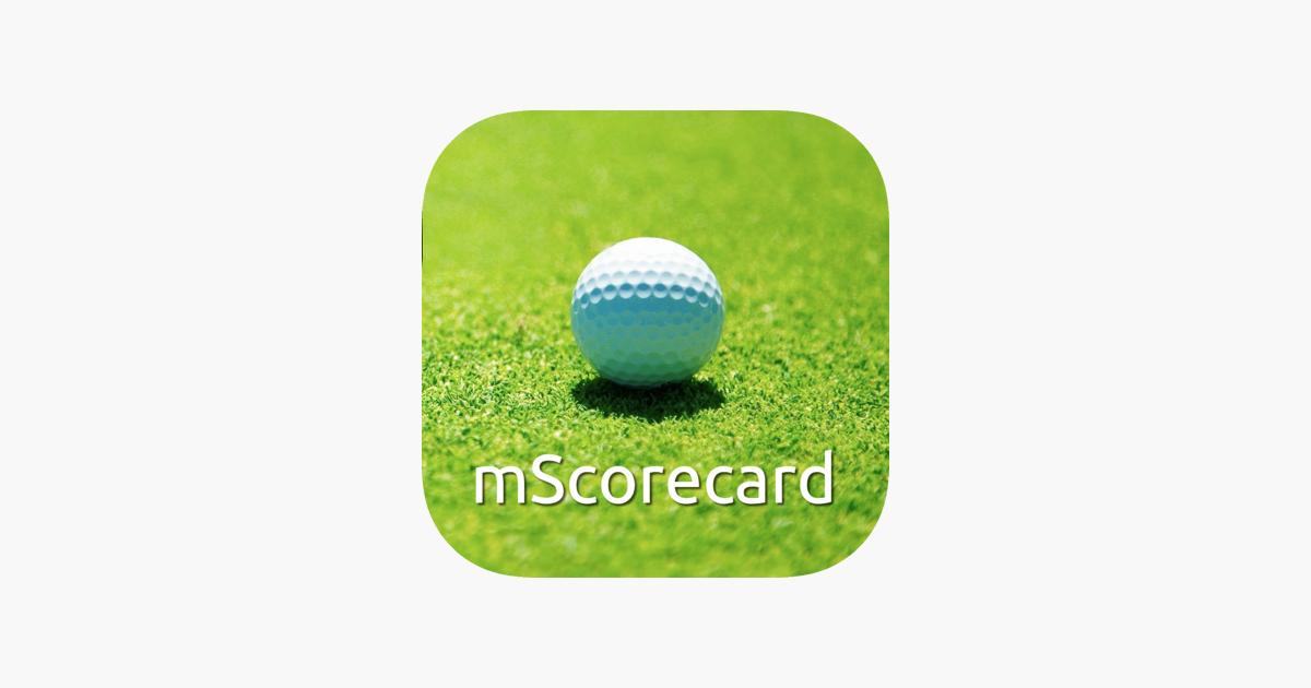 Golf Entfernungsmesser Apple Watch : Mscorecard golf scorecard im app store
