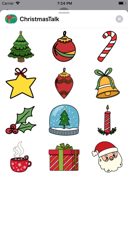 Christmas Talk Sticker