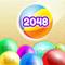 App Icon for 2048 Balls 3D App in Belgium IOS App Store