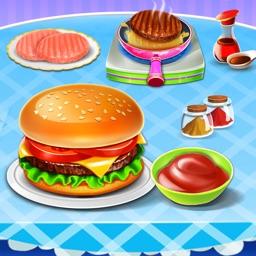 Burger Maker Food Kitchen Game