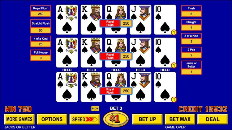 Video Poker - Classic Games screenshot-5
