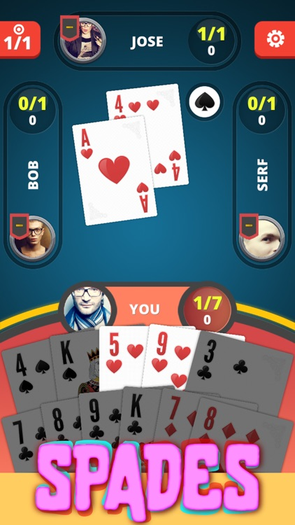 Spades Kings - Card Game screenshot-3