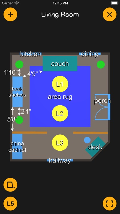 K.I.S.S. Room Layout