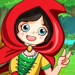 Mini town: Red Riding Hood