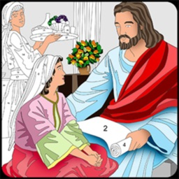 Bible Coloring Color By Number