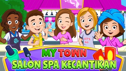 Screenshot for My Town : Beauty Spa Saloon in Indonesia App Store