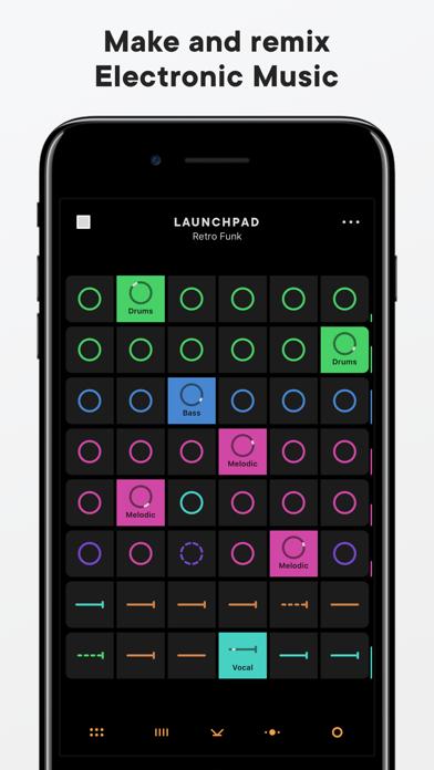 Launchpad Make Remix Music By Ampify Music Ios United States