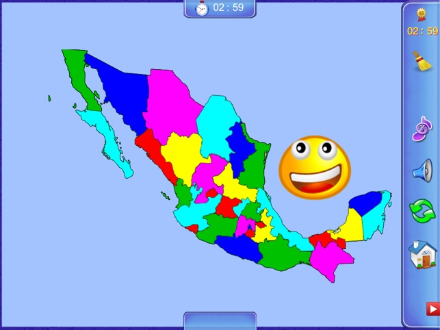 Mexico Puzzle Map on the App Store
