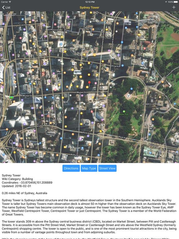 WikiPal Oceania Screenshots
