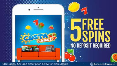 Costa Games: Real Money Slots screenshot one