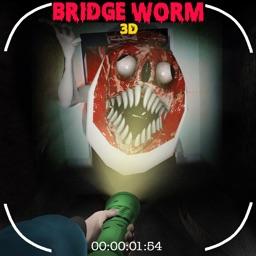 Scary Bridge Worm 3D
