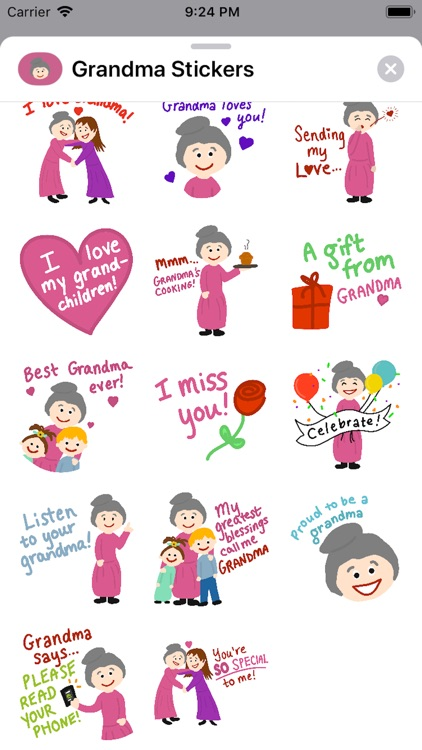 #1 Grandma Stickers screenshot-3