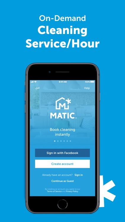 MATIC - Home Cleaning Service