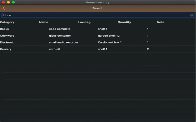 Easy Home Inventory скриншот программы 4