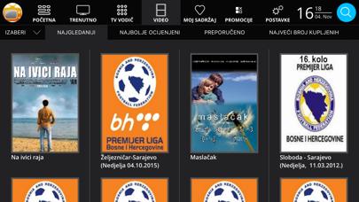 MojaTV - BH Telecom screenshot four