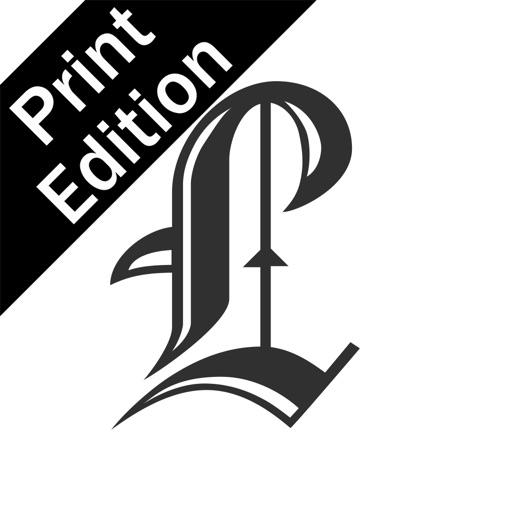 Ellwood City Ledger Print