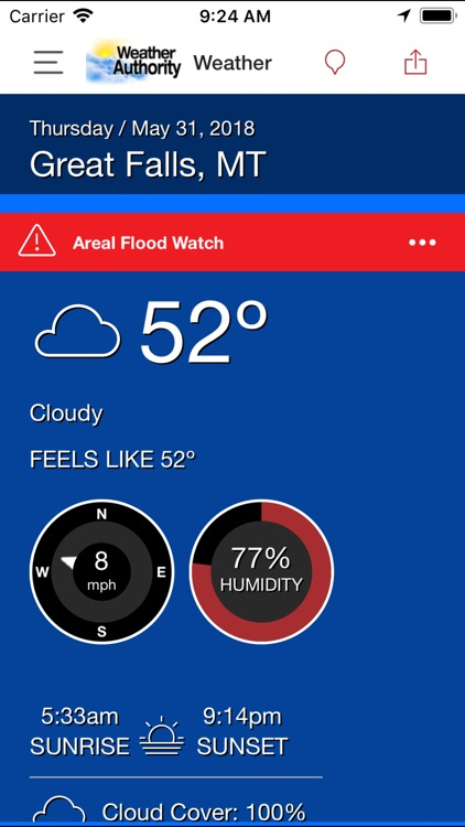 Montana Weather Authority by KHQ Incorporated