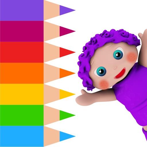 ABC Coloring Book-EduPaint